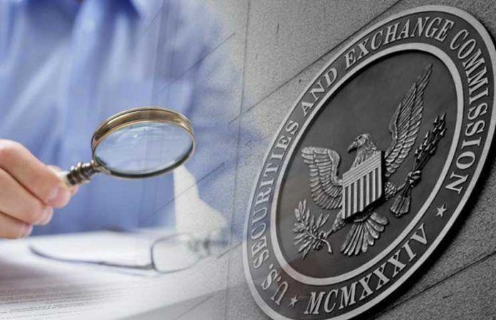 Securities and Exchange Commission SEC هيئة الأوراق المالية والبورصات الأمريكية