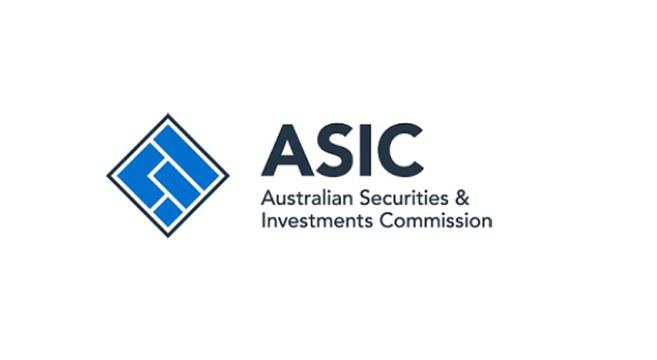 ASIC 2 هيئة الرقابة الاسترالية